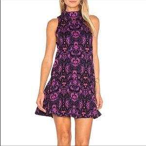 Free People Amelia Purple Dress